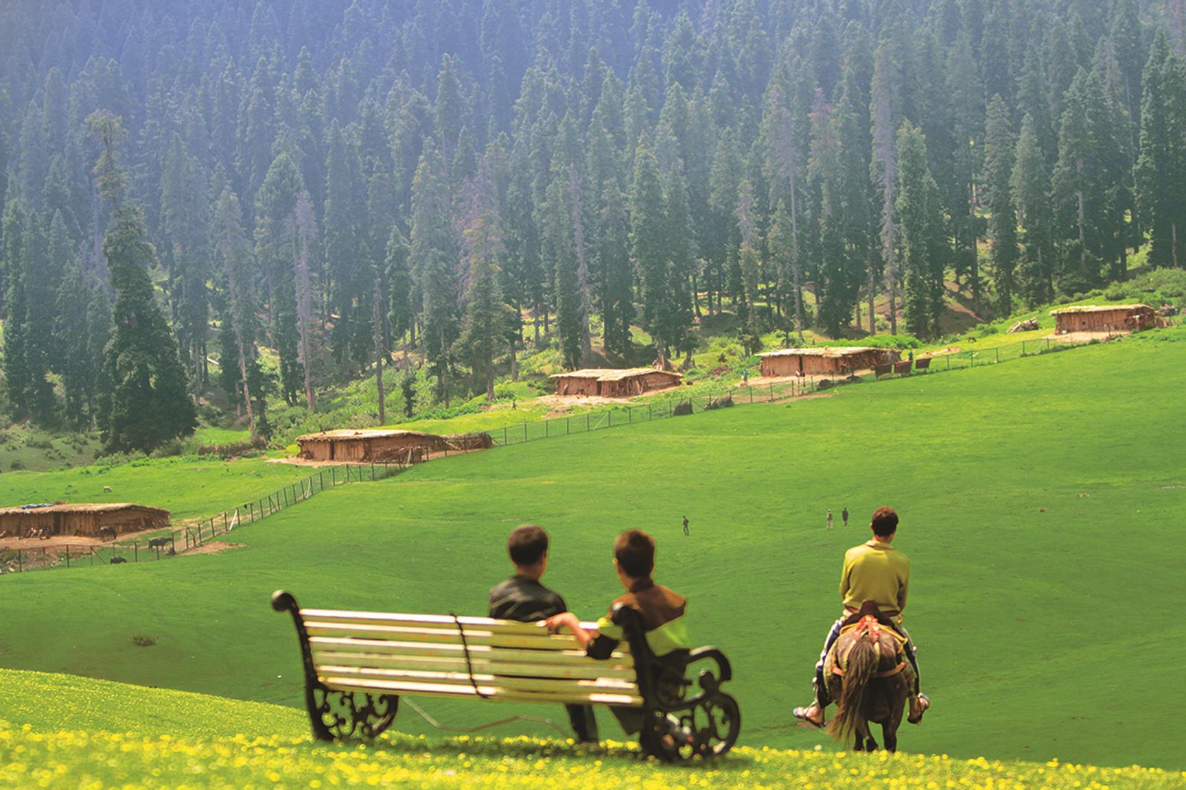 Doodhpathri - Countryside Kashmir